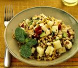 Wheat Berry Salad with Apples and Mint