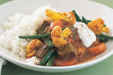 Beef & Vegetable Curry