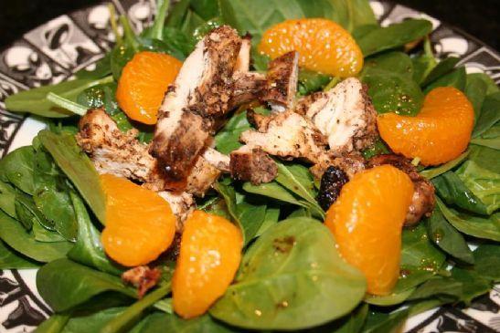 Andi's Jamaican Jerk Chicken Salad with Mandarin Oranges