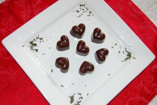 Raw Mint Chocolates