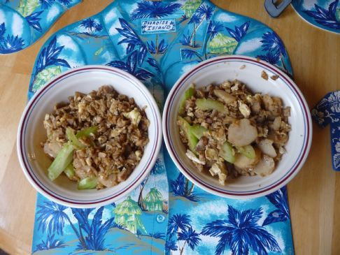 Asian Pork Fried Rice for Two