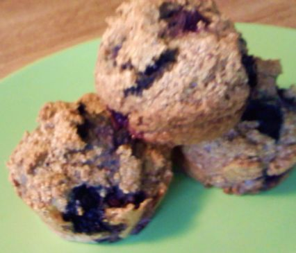 Blueberry Yogurt Muffin
