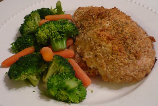 Chicken Breasts, Breaded & Baked