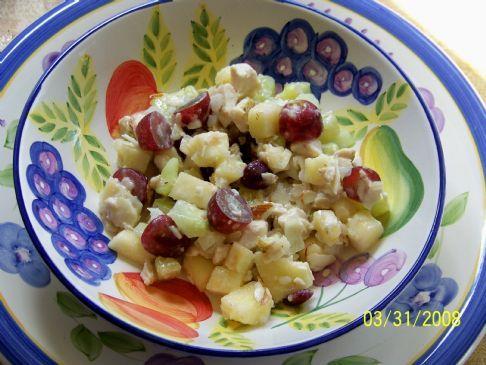 Garlic Ginger Chicken Salad