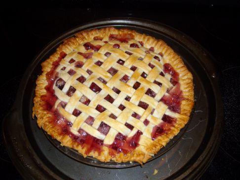 Fresh Cherry Pie, with Tapioca
