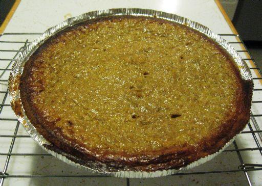Pumpkin Pie (w/Splenda & Fat Free Soy Milk)