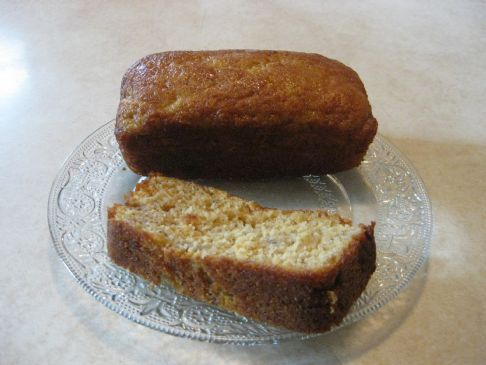 Healthier Easy Banana Bread