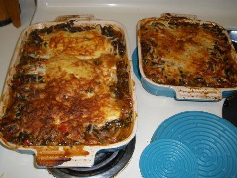 Rachel's Primal Lasagna - Noodle Free!
