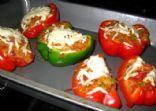 Quick Vegetarian Stuffed Peppers