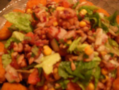 Cranberry Walnut Side Salad