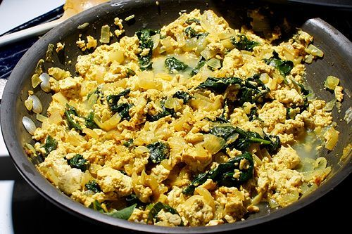 Curry Tofu Scramble