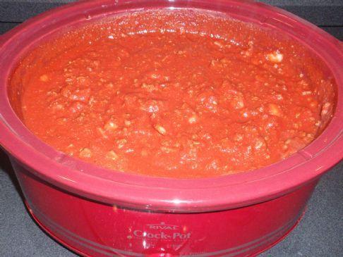 Mom's Lean Spaghetti Sauce