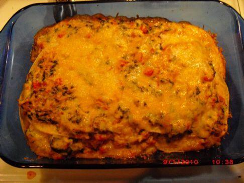 Deb's Chicken Enchilada Casserole