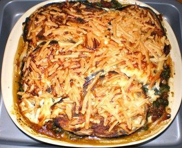Kangaroo Eggplant Lasagne