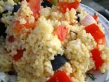 Couscous with Tomatoes and Olives