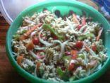 Healthy Vegetarian Pasta Salad