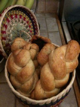 Challah Bread Homemade