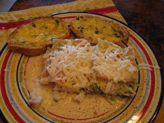 Chicken & Veggie Lasagna