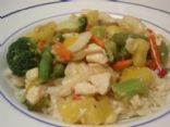 Hawaiian Chicken Stir Fry