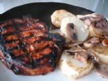 Cajun Grilled Pork Chops