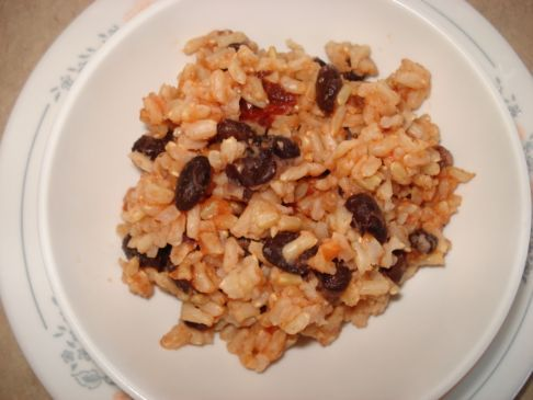 Chipotle Infused Rice & Black Beans