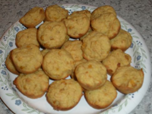 Mini Corn Bread Muffins