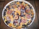 Fig and Berry Clafouti