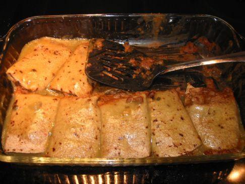 Hi Fiber Delicious Beef & Bean Burritos