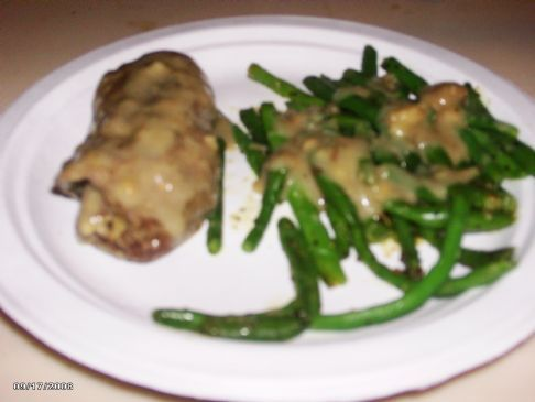 Rolled Steak with Stuffing