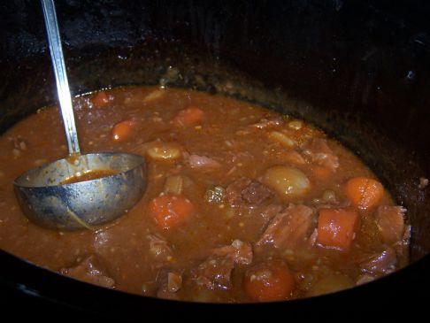 Crockpot Beef Stew Soup