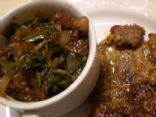 Dandelion Greens with Bacon and Fig Balsamic