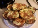 crustless broccoli & cheese mini quiches