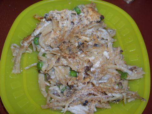 Chicken Tetrazzini Recipe Sparkrecipes