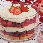 Strawberry Tiramisu Trifle