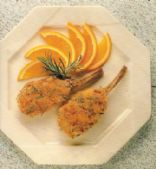Lamb Cutlets with Orange and Rosemary