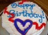 Buttery Buttermilk Vanilla Cake