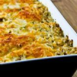Rice Casserole with Leftover Turkey