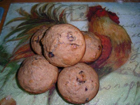 Fruit & Nut Bran Muffins