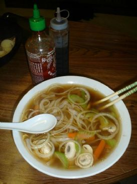 Pho Chay (Vegetarian Vietnamese Rice Noodle Soup)