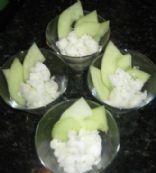 Lime Basil Sorbet