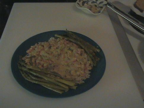 Crawfish Etoufee Dinner