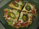 Healthier Mexican Pizza