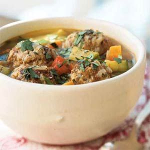 Turkey Albondigas Soup