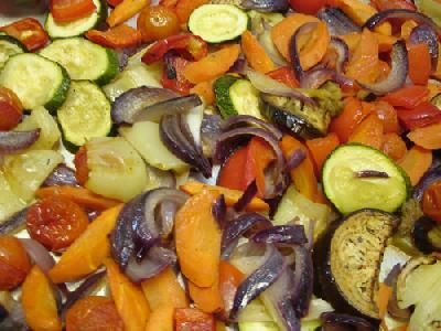 Simple Roasted Veggies