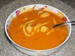 Chicken Paprika Spaetzle Soup
