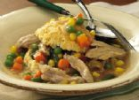 Slow Cooker Upside-Down Chicken Pot Pie