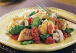 One Skillet Chicken, Mushroom and Spinach