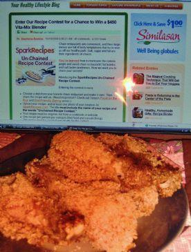 Crunchy Spiced Chicken (Un-Chained Recipe Contest)