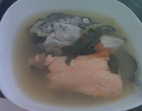 Salmon Sinigang