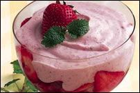 Strawberry Lemon Mousse